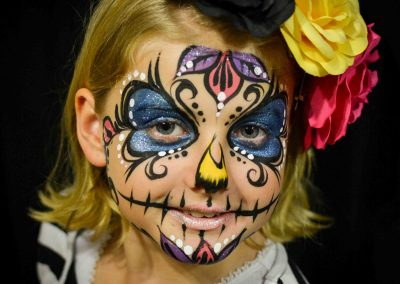 Child Dia De Los Muertos