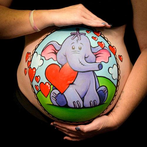 Maternity Body Art