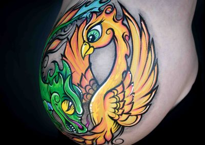 Phoenix & Dragon Twins