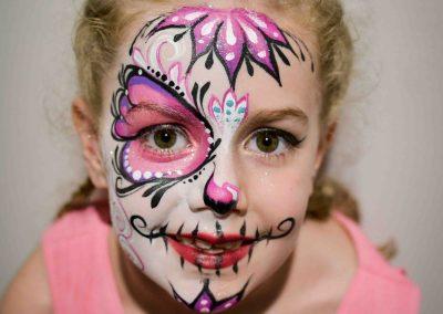 Kids Half Sugar Skull