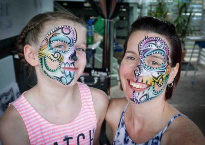 Colour Tribal Skull