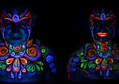 Floral UV Art